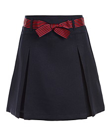Little Girls Pleated Scooter Skirt