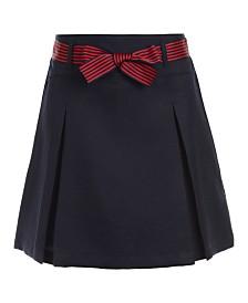 Nautica Big Girls Plus-Size Pleated Scooter Skirt