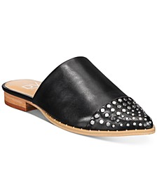 Itzel Studded Slip On Mules