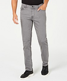 Men's Slim-Straight Fit Stretch Jeans