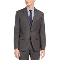 Bar III Men's Slim-Fit Gray Flannel Suit Separate Jacket