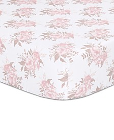 The Peanutshell Grace Fitted Crib Sheet