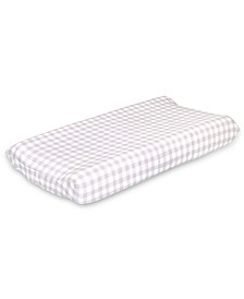 Farmhouse Check Changing Pad Cover