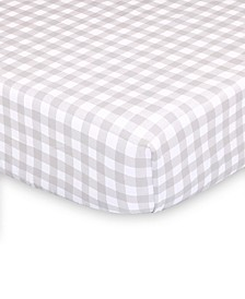 Farmhouse Check Fitted Crib Sheet