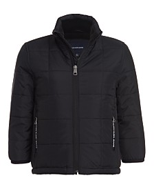 Calvin Klein Big Boys Fleece-Lined Jacket