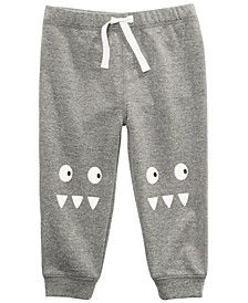 Toddler Boys Monster Jogger Pants, Created for Macy's