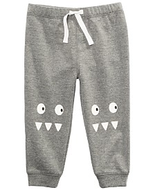 First Impressions Toddler Boys Monster Jogger Pants, Created for Macy's