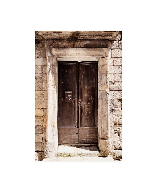 """Trademark Global Philippe Hugonnard France Provence Old French Door Canvas Art - 19.5"""" x 26"""""""