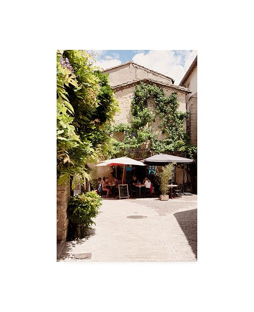 "Trademark Global Philippe Hugonnard France Provence Provencal Restaurant II Canvas Art - 27"" x 33.5"""