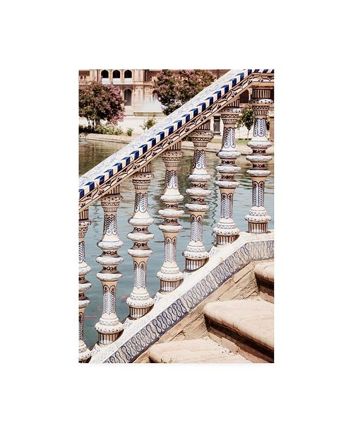 "Trademark Global Philippe Hugonnard Made in Spain Details of the Plaza de Espana II Canvas Art - 27"" x 33.5"""
