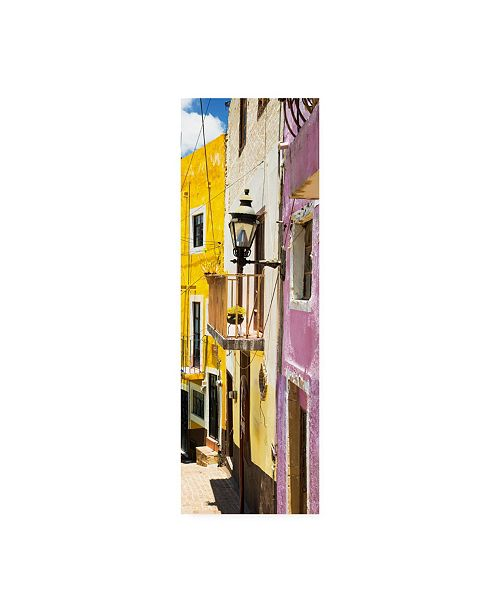 "Trademark Global Philippe Hugonnard Viva Mexico 2 Street Scene Guanajuato III Canvas Art - 15.5"" x 21"""
