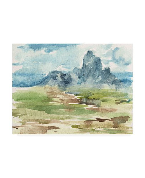 "Trademark Global Melissa Wang Watercolor Views I Canvas Art - 19.5"" x 26"""