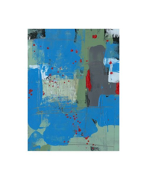 "Trademark Global Regina Moore Integrated Circuit I Canvas Art - 19.5"" x 26"""