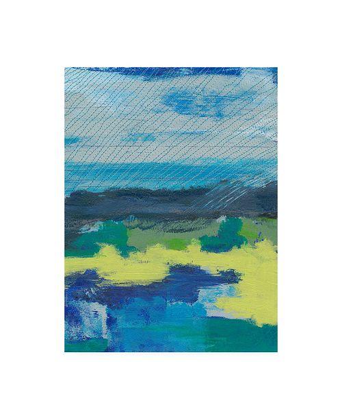 "Trademark Global Regina Moore Stitched Sky I Canvas Art - 19.5"" x 26"""