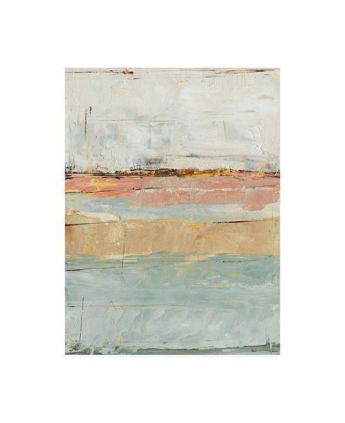 "Trademark Global Ethan Harper Pastel Horizon Paint II Canvas Art - 19.5"" x 26"""