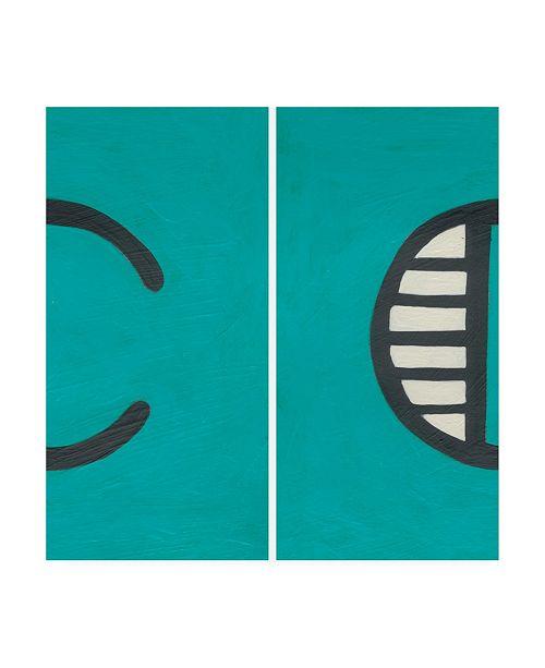 "Trademark Global Chariklia Zarris Luciens C 6 Up Canvas Art - 15.5"" x 21"""