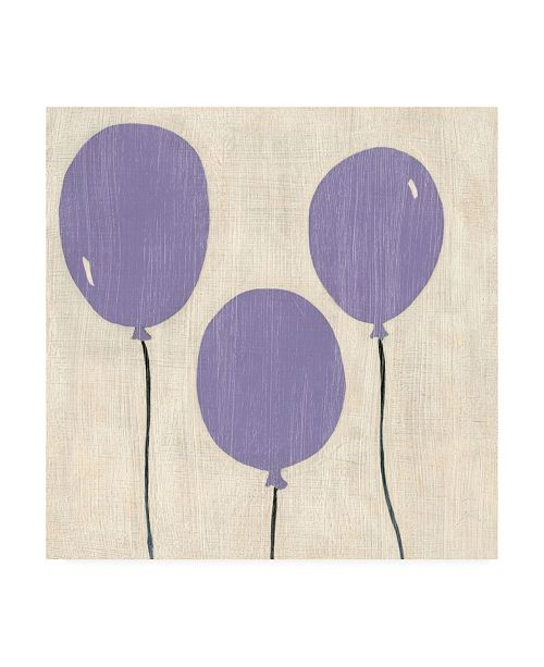 "Trademark Global Chariklia Zarris Best Friends Balloons Canvas Art - 19.5"" x 26"""