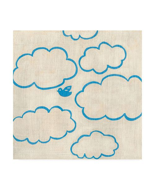 "Trademark Global Chariklia Zarris Best Friends Sky Canvas Art - 36.5"" x 48"""