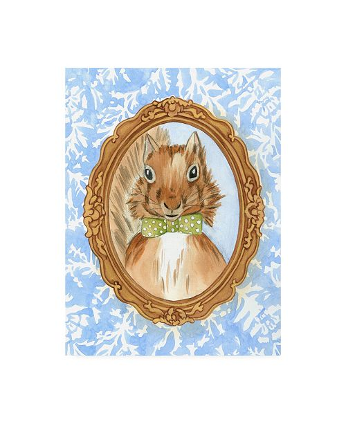 "Trademark Global Chariklia Zarris Teachers Pet Squirrel Canvas Art - 27"" x 33.5"""