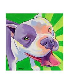 "DawgArt Cupcake Color Rays Canvas Art - 36.5"" x 48"""
