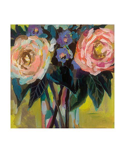 "Trademark Global Jeanette Vertentes Happy Couple Canvas Art - 36.5"" x 48"""