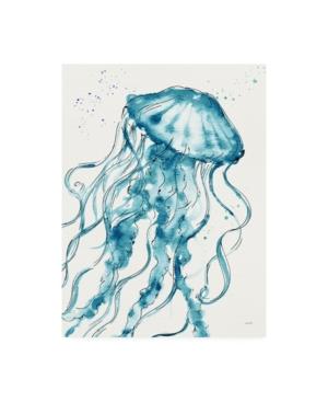 Anne Tavoletti Deep Sea X V2 Teal Canvas Art - 15.5