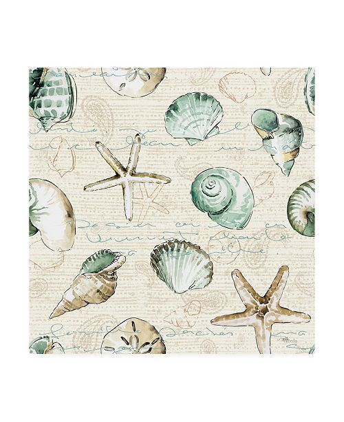 "Trademark Global Pela Studio Ocean Prints Step 05 Canvas Art - 19.5"" x 26"""