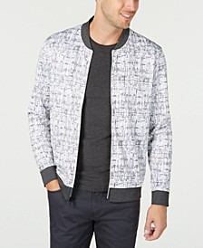 Men's Abstract-Print Jacket, Created for Macy's