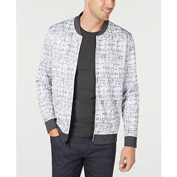 Alfani Men's Abstract-Print Jacket