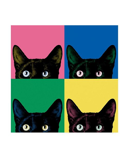 "Trademark Global Jon Bertell Curiosity Pop Canvas Art - 15.5"" x 21"""