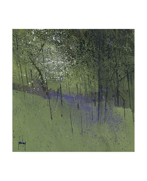 "Trademark Global Paul Baile Bluebells on Green Canvas Art - 19.5"" x 26"""