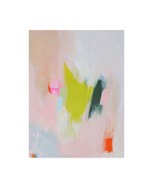 "Trademark Global Melissa Donoh Lucia Canvas Art - 15.5"" x 21"""