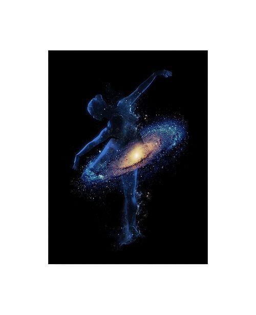 "Trademark Global Robert Farka Cosmic Dance Canvas Art - 15.5"" x 21"""