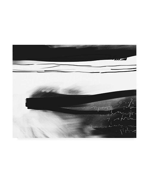 "Trademark Global Simona Goca Letter No. 2 Canvas Art - 15.5"" x 21"""