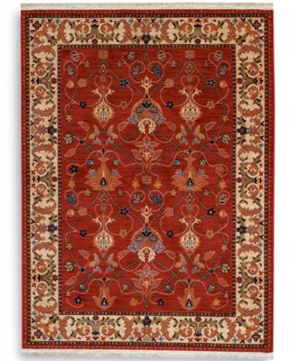 Attractive Karastan Rugs, English Manor William Morris Red