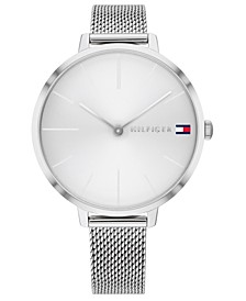 Women's Stainless Steel Mesh Bracelet Watch 40mm
