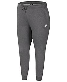 Plus Size Essential Fleece Pants