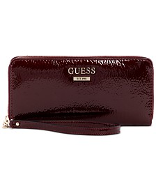 GUESS Maxxe Large Zip Around Wallet