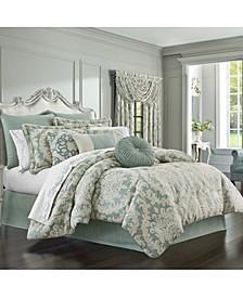 J Queen Versailles Spa Queen 4pc. Comforter Set