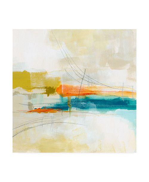 "Trademark Global June Erica Vess Atmospheric V Canvas Art - 27"" x 33"""