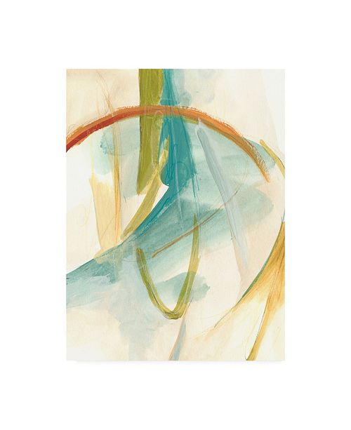 "Trademark Global June Erica Vess Vertigo I Canvas Art - 37"" x 49"""