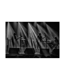 """Adrian Popan Band on Stage Canvas Art - 20"""" x 25"""""""
