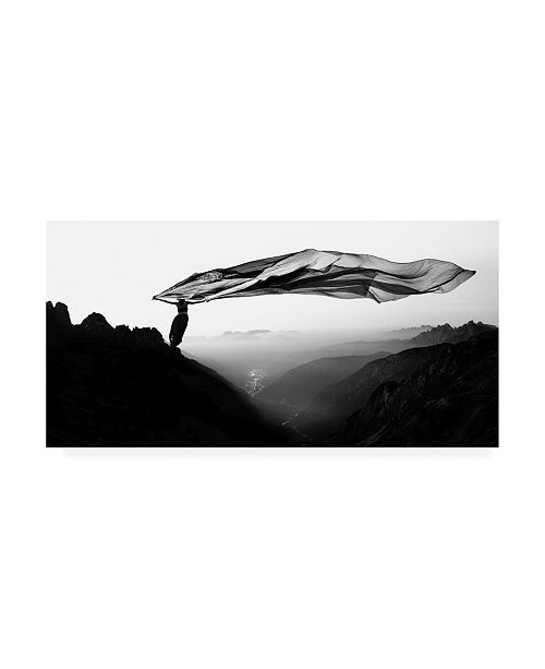 "Trademark Global Patrick Odorizzi Free as the Wind Canvas Art - 37"" x 49"""