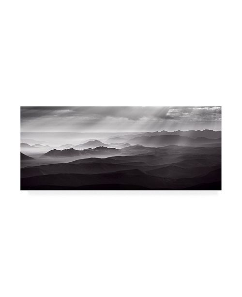 "Trademark Global Richard Guijt Namib Desert By Air Canvas Art - 15"" x 20"""