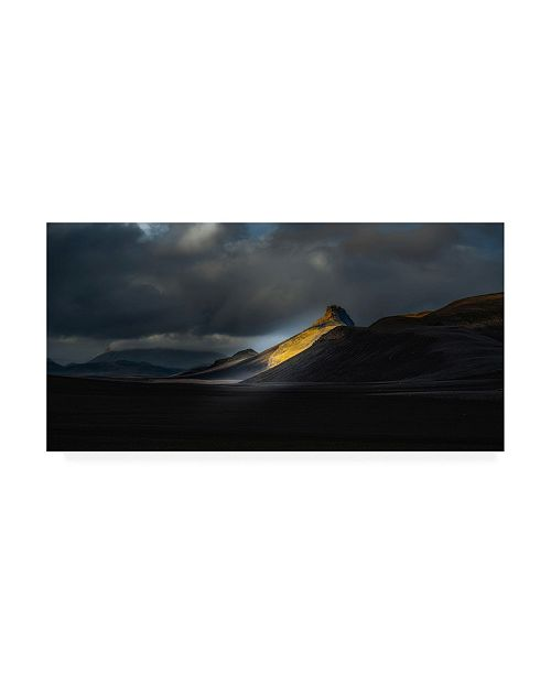 "Trademark Global Ronny Olsson Aristindur Highlands Iceland Canvas Art - 20"" x 25"""