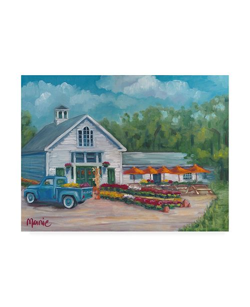 "Trademark Global Marnie Bourque Harvest at the Farm Canvas Art - 20"" x 25"""