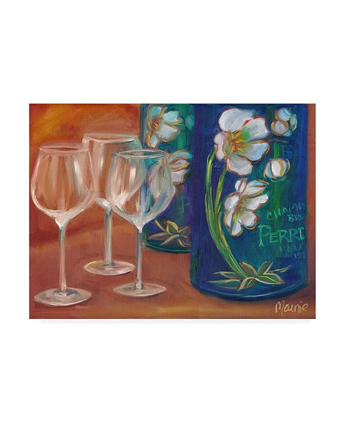 "Trademark Global Marnie Bourque Trio Glasses Canvas Art - 20"" x 25"""