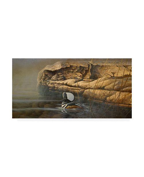 """Trademark Global Michael Budden Misty Passage Canvas Art - 20"""" x 25"""""""