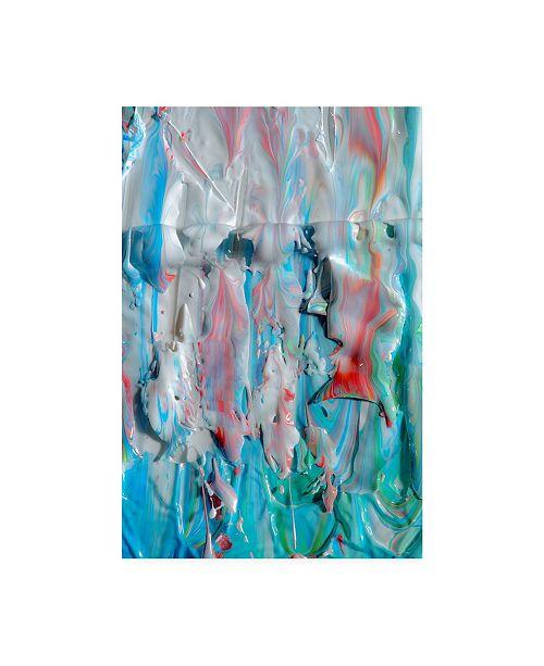 "Trademark Global Mark Lovejoy Abstract Splatters Lovejoy 9 Canvas Art - 15"" x 20"""