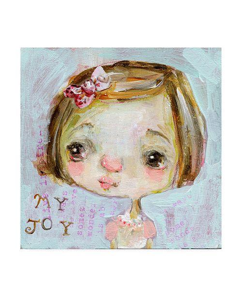 "Trademark Global Mindy Lacefield My Joy Canvas Art - 15"" x 20"""